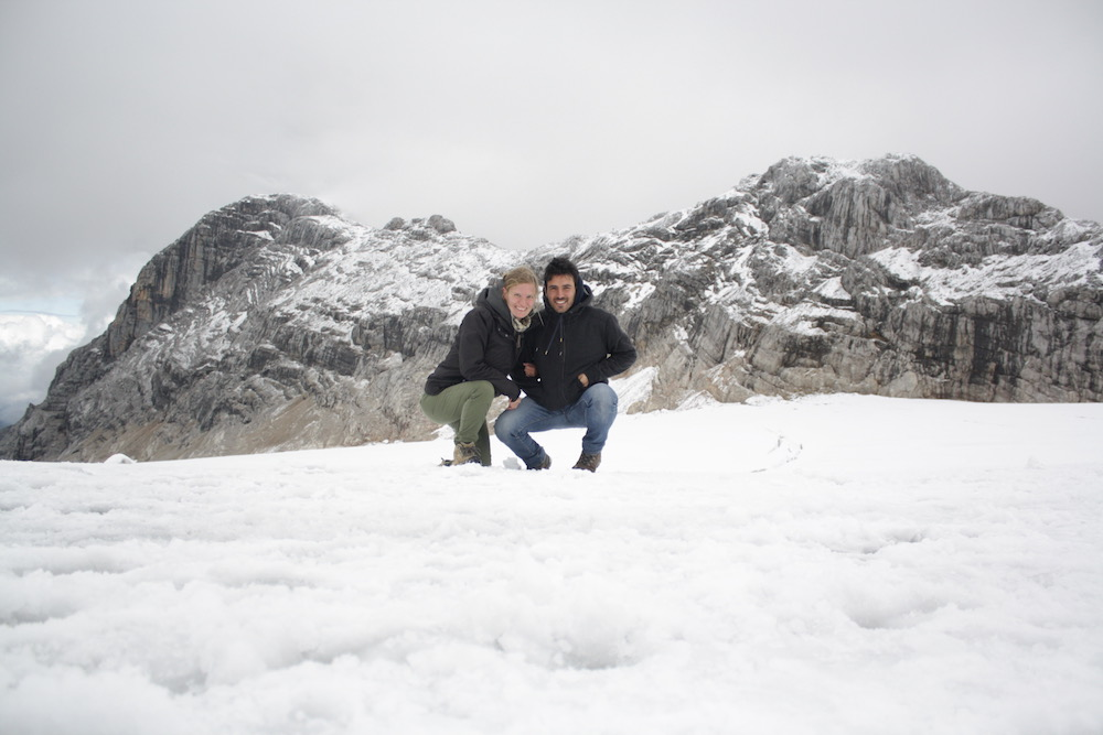 Me and my wife in Austria